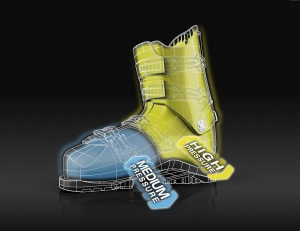 A special Fischer High-Tech Polymer is used for the Fischer VACUUM boots.